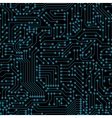 Seamless pattern Computer circuit board vector image vector image