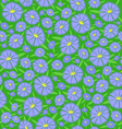Seamless texture of the flowers vector image