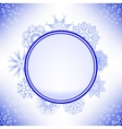 Winter Snow Label vector image vector image