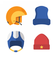 Winter Sports Head Wear Set vector image vector image