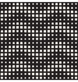 Seamless Black And White ZigZag Halftone vector image