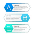 business banner for web design creative for vector image vector image