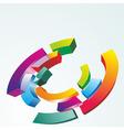Color symbol vector image