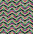 Colorful zig zag stripe pattern background design vector image vector image
