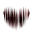heart decorative vector image vector image