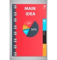 Infographic template design vector image vector image