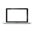 Modern glossy laptop vector image