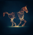 2014 chinese new year horse vector image vector image