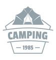 adventure badge logo vintage style vector image vector image