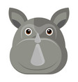 avatar of a rhino vector image vector image