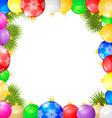 balls frame vector image