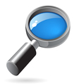 Isometric icon of lens vector image vector image