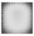 monochrome halftone background vector image vector image