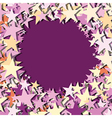stars center text place vector image vector image