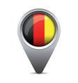 Germany flag pointer vector image