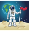 Astronaut space cartoon design vector image vector image