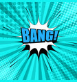 comic book bright page template vector image vector image