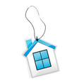house tag vector image vector image