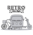 retro lifestyle vector image vector image