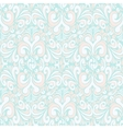 Seamless vintage pastel blue background vector image vector image