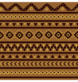 brown mexican pattern vector image vector image