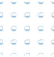 cargo trailer icon pattern seamless white vector image vector image