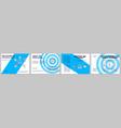 coworking hubs future brochure template vector image vector image