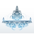 Decorative fountain shape vector image vector image