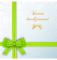 festive invitation card vector image vector image