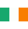 Flag of Ireland vector image vector image