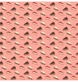 Seamless sweet pattern The pieces of the pie and vector image vector image