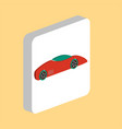 sport car computer symbol vector image