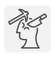 stress pressure icon vector image