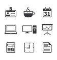 Office and Business Icon vector image