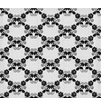 bkack lace pattern vector image vector image