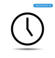 clock icon time icon eps 10 vector image vector image