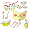 Cooking set vector image