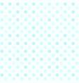 cyan polka dot pattern seamless vector image vector image