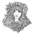 fairy 1 vector image vector image
