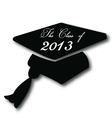 Graduation hat for the class of 2013 vector | Price: 1 Credit (USD $1)