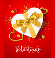 happy valentines day holiday vector image vector image