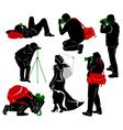 Photographer vector image