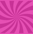 pink spiral ray background - graphic design vector image vector image
