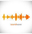 sound wave design element vector image