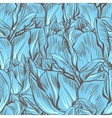 Tulips seamless flowers pattern vector | Price: 1 Credit (USD $1)