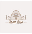 vintage retro golden wood barn farm minimalist