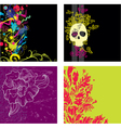 set of backgrounds2 vector image