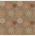 Christmas seamless pattern Light and dark vector image vector image