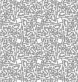 Dotted rectangle filled with dots vector image vector image