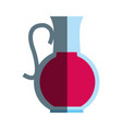 glass jug icon image vector image